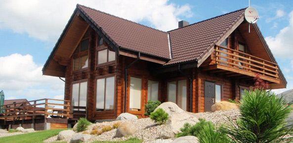 Pin de lady patricia en fachadas casas pinterest casas de madera casas y madera - Casas modulares modernas ...