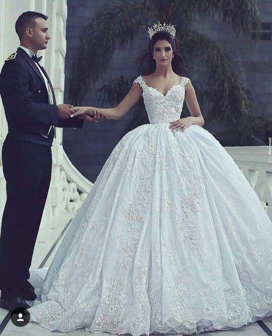 Pin by Sahar on Wedding | Pinterest | Wedding dress, Wedding and ...