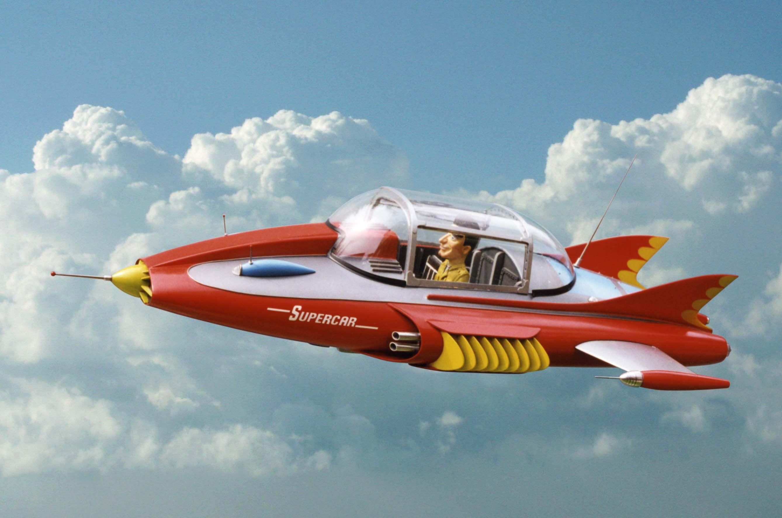 Flying Car For Sale Now >> supercar tv series 1960s - Recherche Google | Souvenirs ...... | Pinterest | TVs, Films and ...