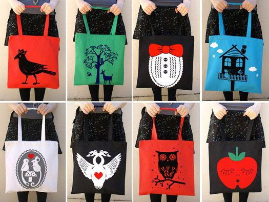Tote Bag Design - Tote Bags | Tote Bag Design | Pinterest