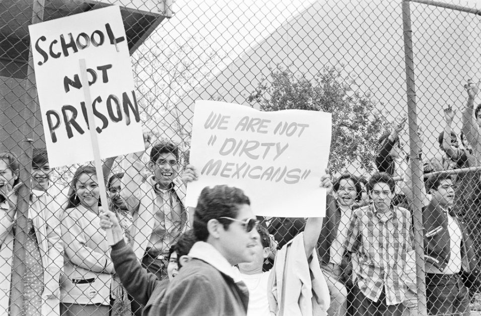 Ya Basta Exhibit Commemorates East La High School Walkouts And Today S Student Led Protests Latino Usa In 2021 School Walkout Chicano Studies Chicano