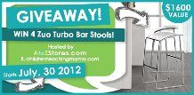 Linkies Contest Linkies: Win A Set of 4 Bar Stools - USA only