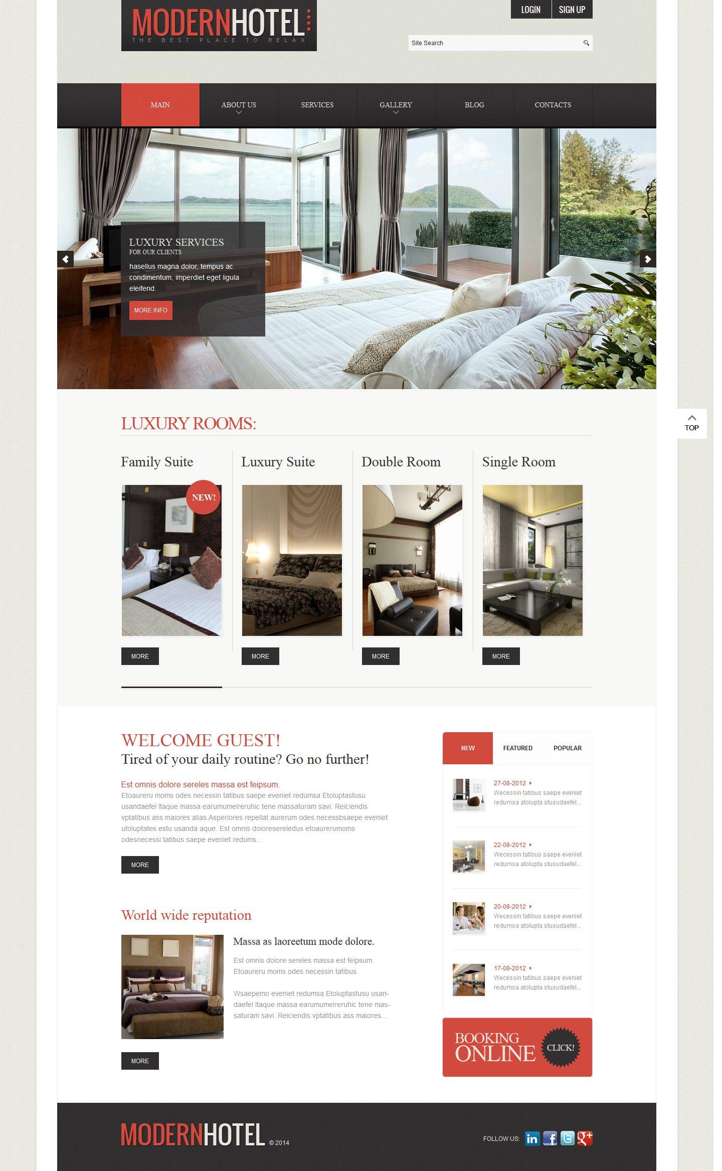 website company profile template hotel company profile website company profile template hotel