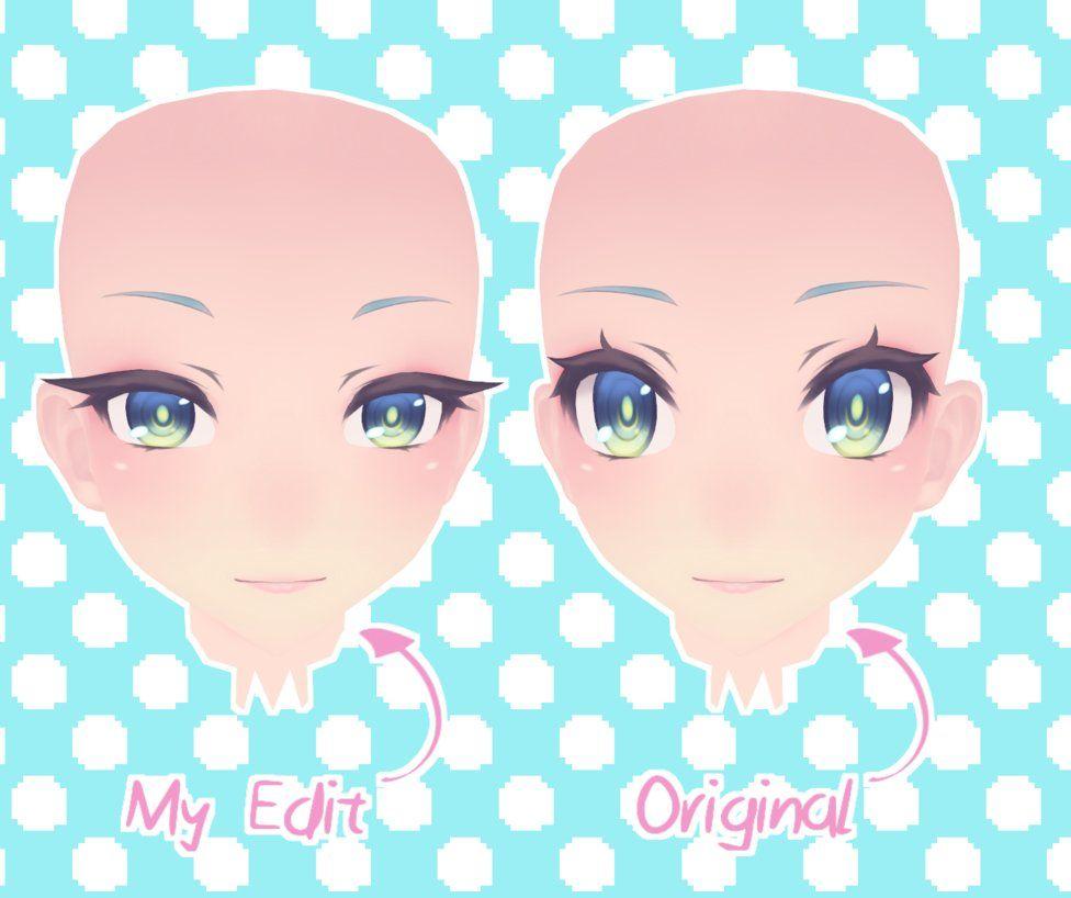 Mmdtda Face Edit By Mikkyunn Mmd Yandere Simulator Yandere Face