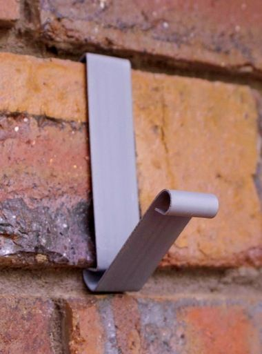 Brick Wall Utility Coat Hook Hanger Hang Coats Shoes