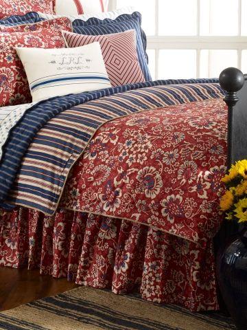 Ralph Lauren Villa Martine Floral King Comforter New
