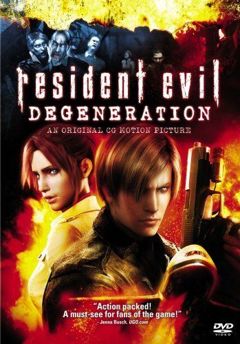 Resident Evil Degeneration 2008 With Images Resident Evil