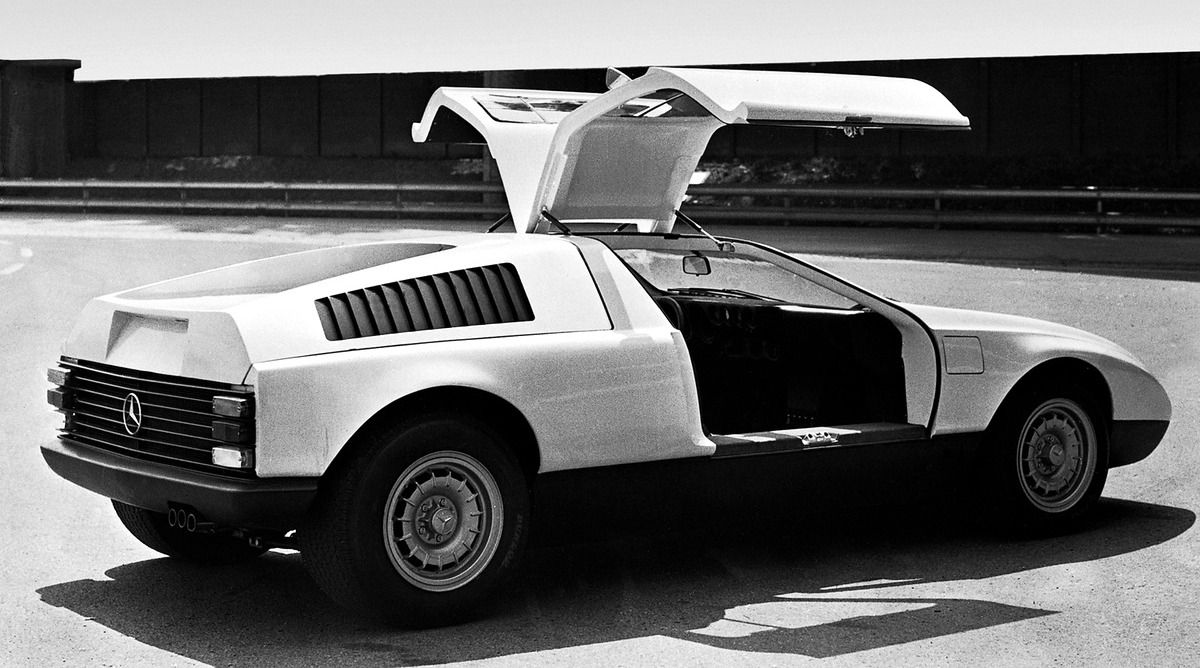 Mercedes Benz C111-1, 1969. The first of Mercedes experimental C111 ...