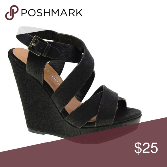 Chinese Laundry Z Max Wedge Boutique Womens Shoes Wedges Black Wedge Sandals Wedges