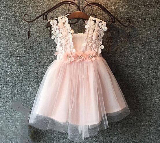 d7bff1674 2019 Flower Girls Dress Princess Dress Flower Girls Dress Kids Sweet ...