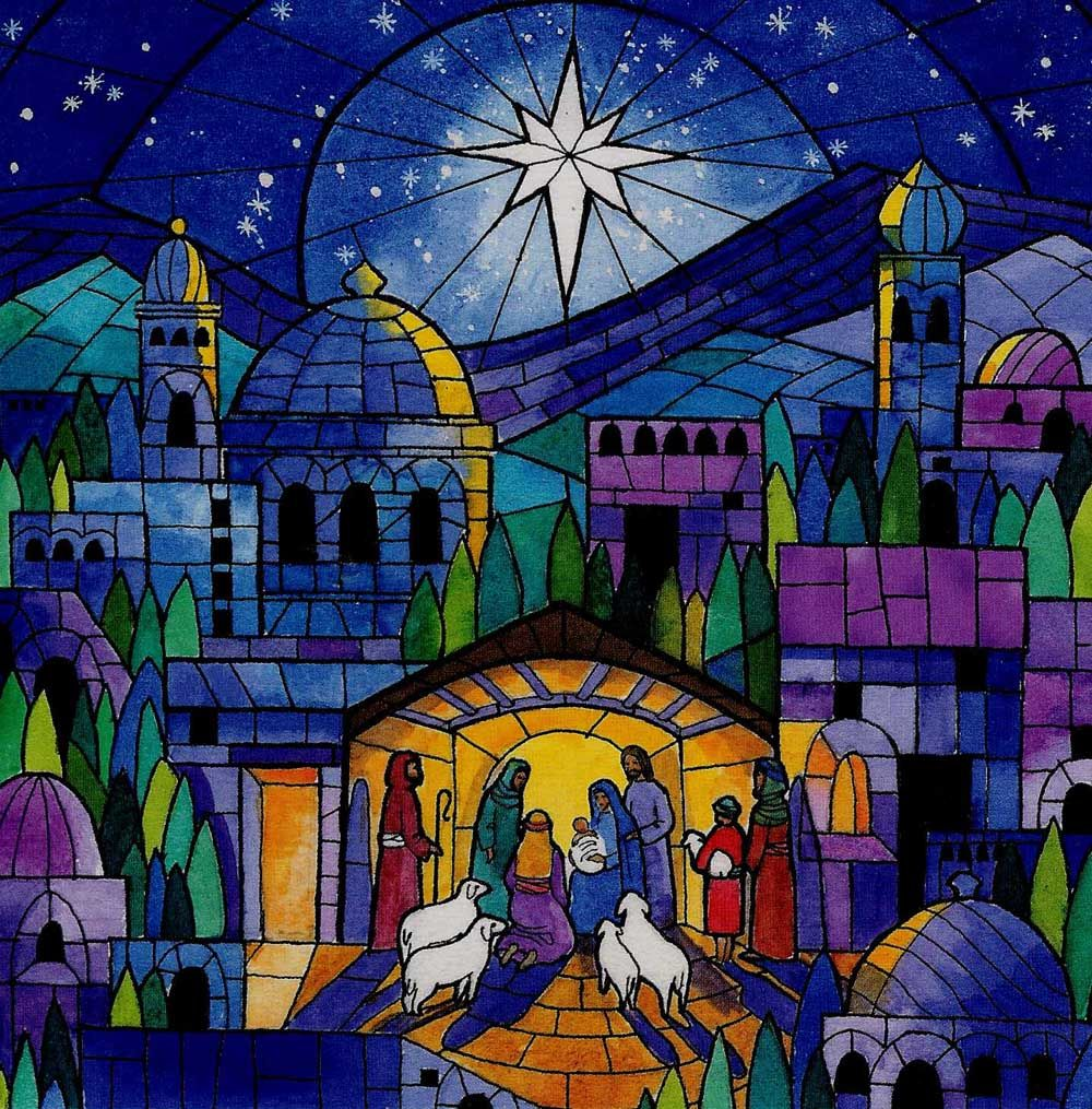 Image result for psychedelic christmas nativity