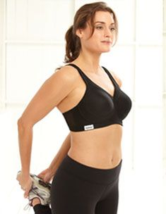 2fa5b65204008 The Ultimate Full-figure Sport Bra For the full-figured woman who s looking  for a medium to high impact bra that still offers a natural shape that  flatters ...