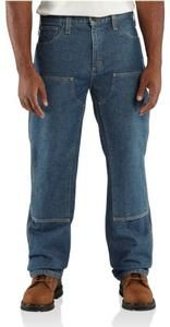 5ba531ddf274 Carhartt Flame-Resistant Utility Denim Double Front Jean-Relaxed Fit