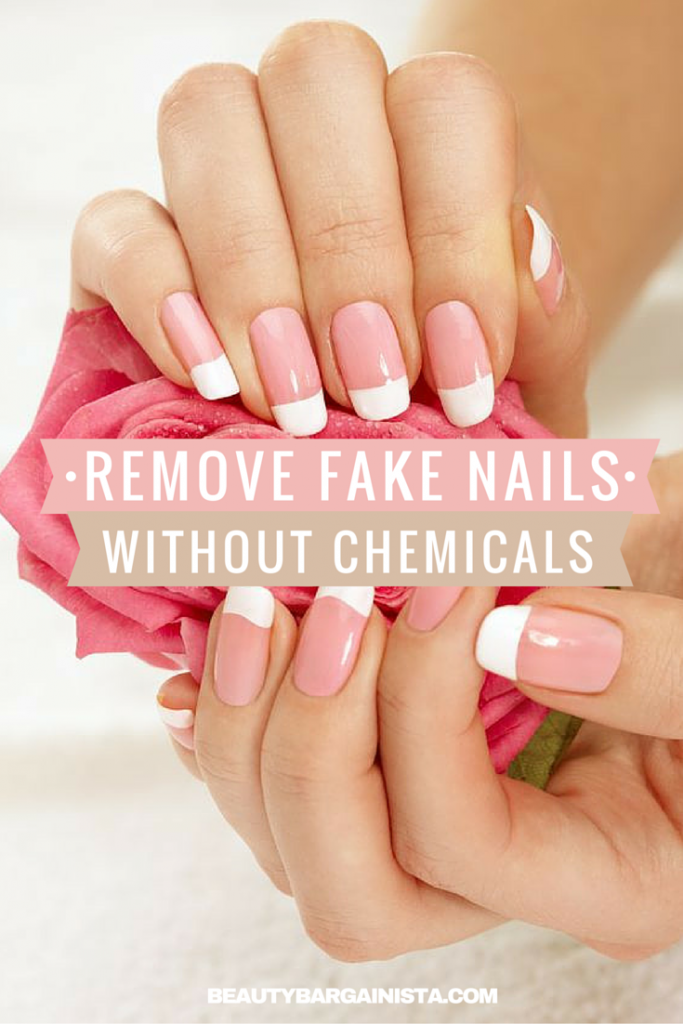 How To Remove Acrylic Nails Without Acetone Nail Clippers Or