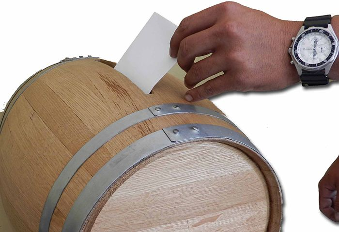 Diy Wedding Gift Card Box Wine Themed Wedding Wine Barrel Card