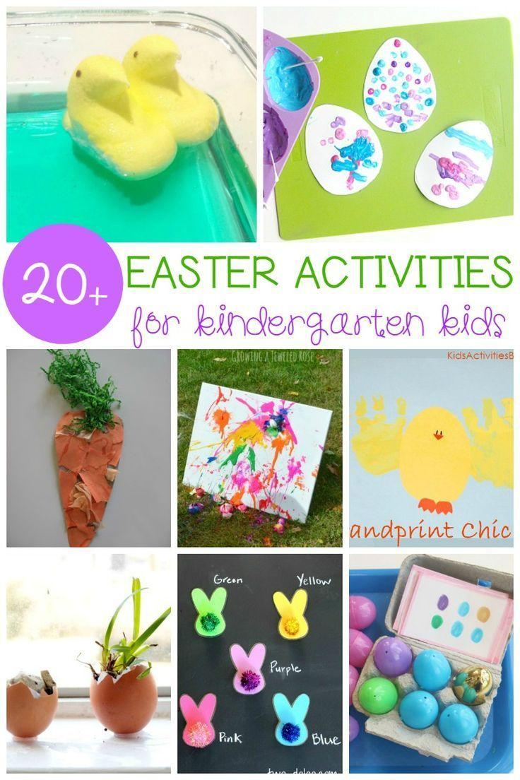 Must-Try Easter Activities for Kindergarten Kids | Kindergarten ...
