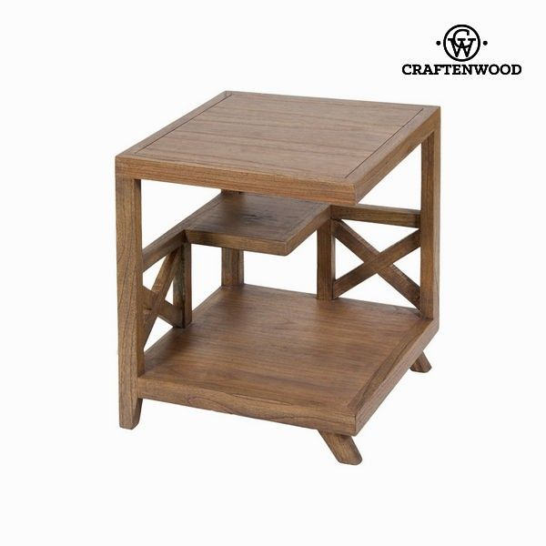 Chocolate Collection By Craftenwood 50 X 50 X 50 Cm Side Table Mindi Wood