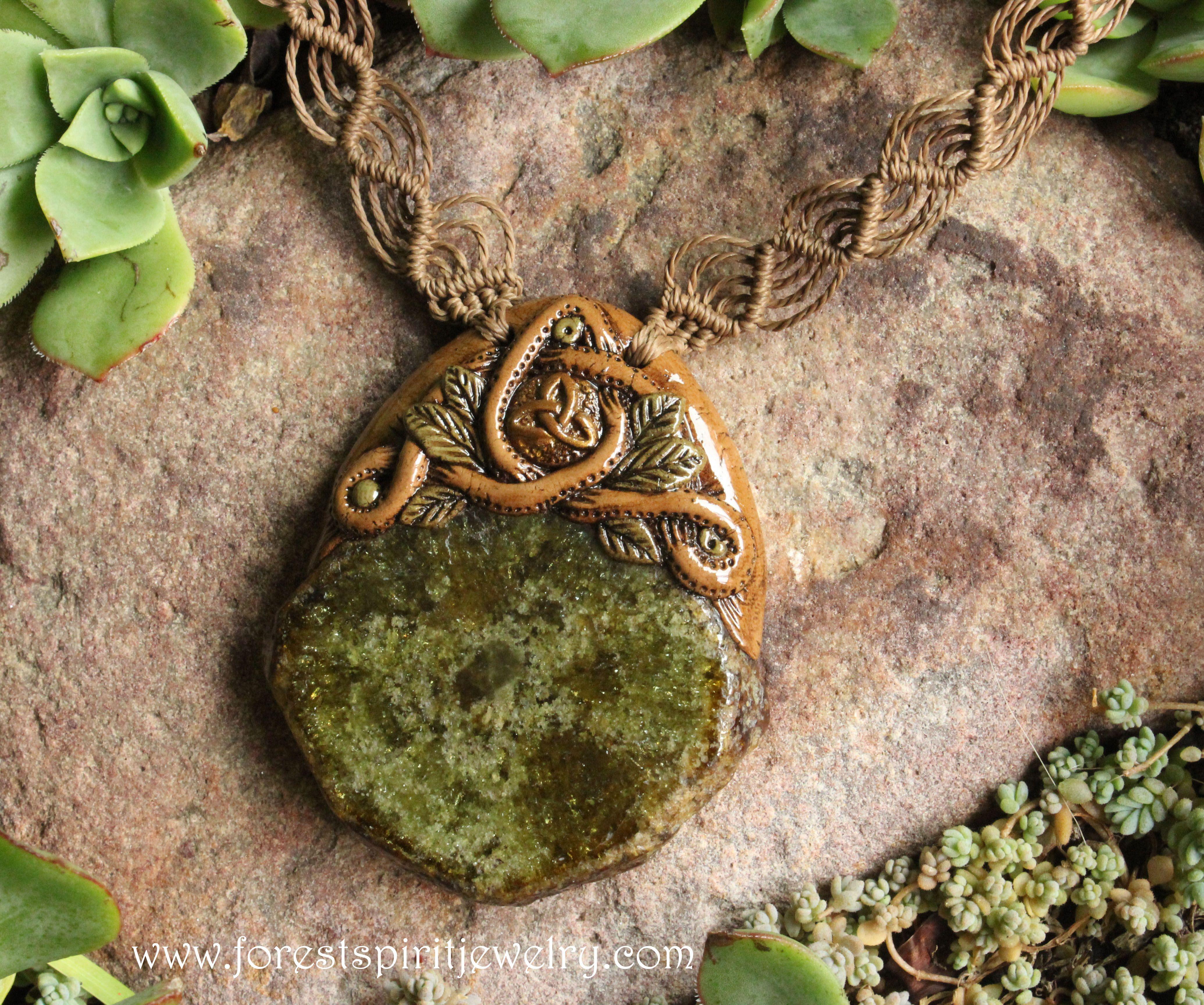 Clay Sunset Aura Spirit Quartz Cluster and Carnelian Necklace Woodland Fairy Hippie Boho Chic Shaman Pixie Earthy