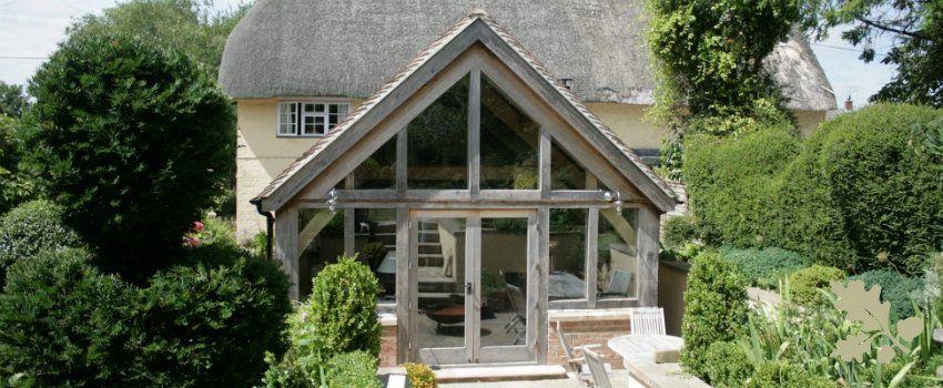 Oak frame extensions - Carpenter Oak and Woodland | rose cottage ...