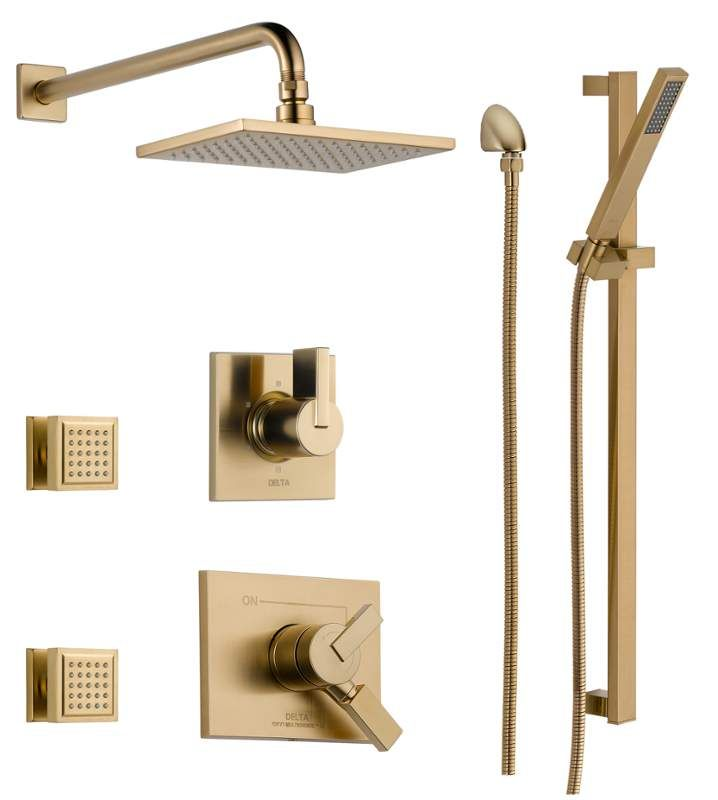 Delta Dss Vero 1703 Shower Systems Shower Heads Shower Faucet