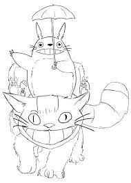 Résultats De Recherche Dimages Pour Mon Voisin Totoro Coloriage