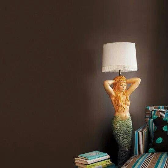Mermaid floor lamp | My Nautical World | Pinterest | Floor lamp