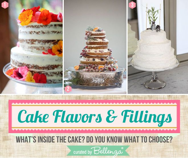 Wedding Cake Flavours And Fillings: Yummy Wedding Cake Flavors And Fillings: Tasteful Tips For