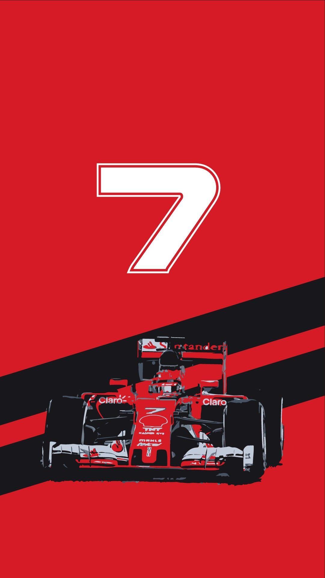 Ferrari Kimirarikkonen Formula1 F1 Kr7 Scuderiaferrari 7