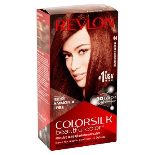 Revlon Colorsilk Hair Color Medium Reddish Brown