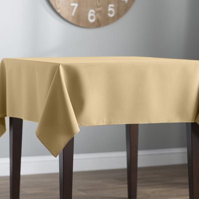 Basics Wayfair Basics Poplin Square Tablecloth Classic