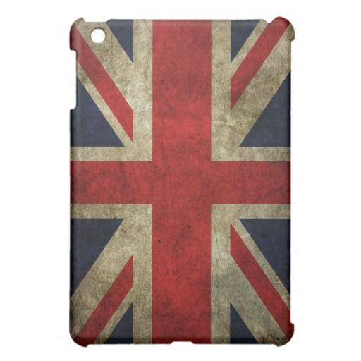 Union Jack Grunge Ipad Mini Case Zazzle Com In 2020