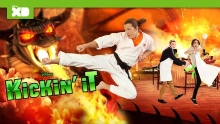 "Check out ""Kickin' It"" on Netflix"
