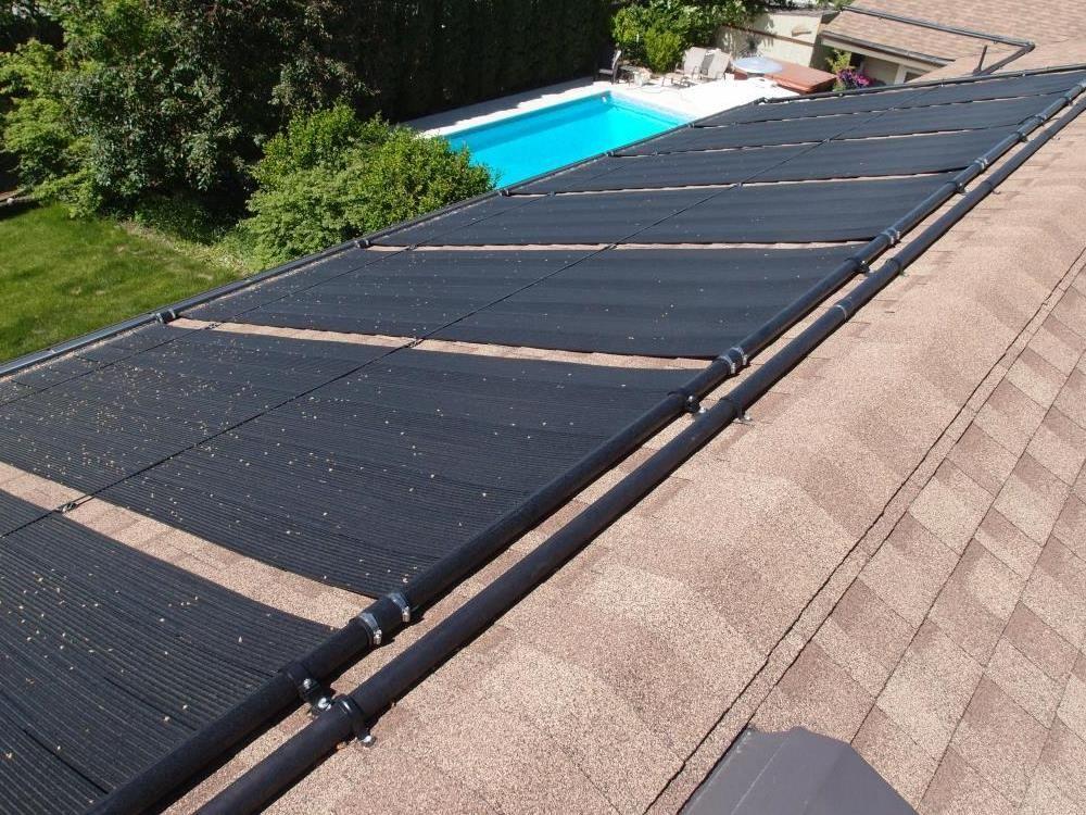 Pool Solar Panel Installation