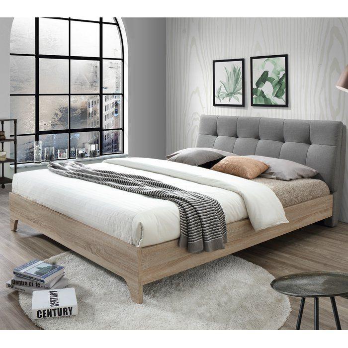Rebecca Upholstered Full Platform Bed, Rebecca Upholstered Queen Platform Bed