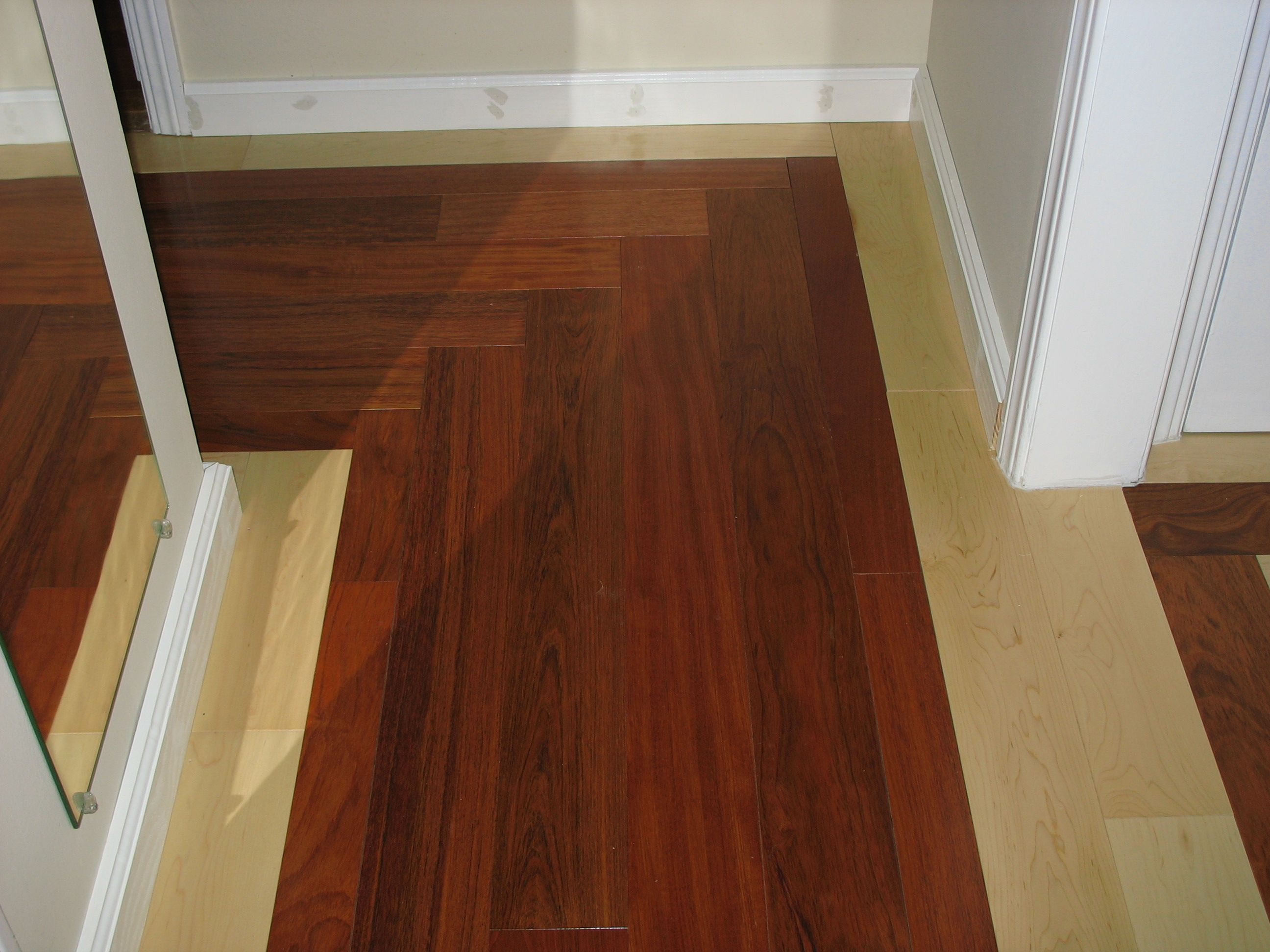 Lltrends And Lumberliquidators Maple And Brazilian Cherry Mixed For A Dramatic Look Do You Dare Flooring Hardwood Floors Floor Colors