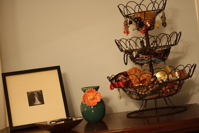 fruit basket=perfect place for jewlery