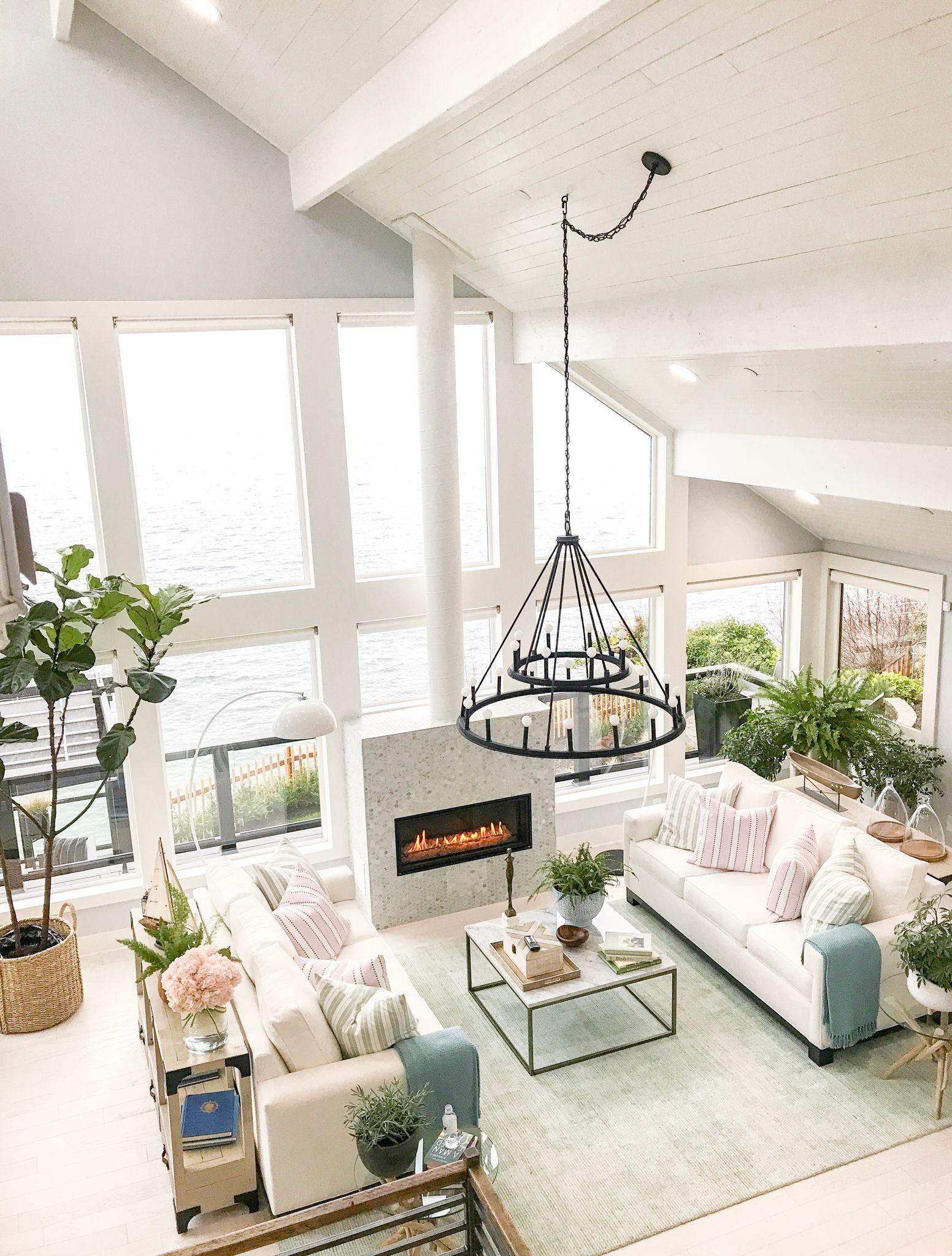 Inside Scoop Hgtv Dream Home 2018 Coastal Living Rooms Beach