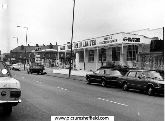 Wilf Green Ltd Motorcycle Dealers Queens Road Edmund