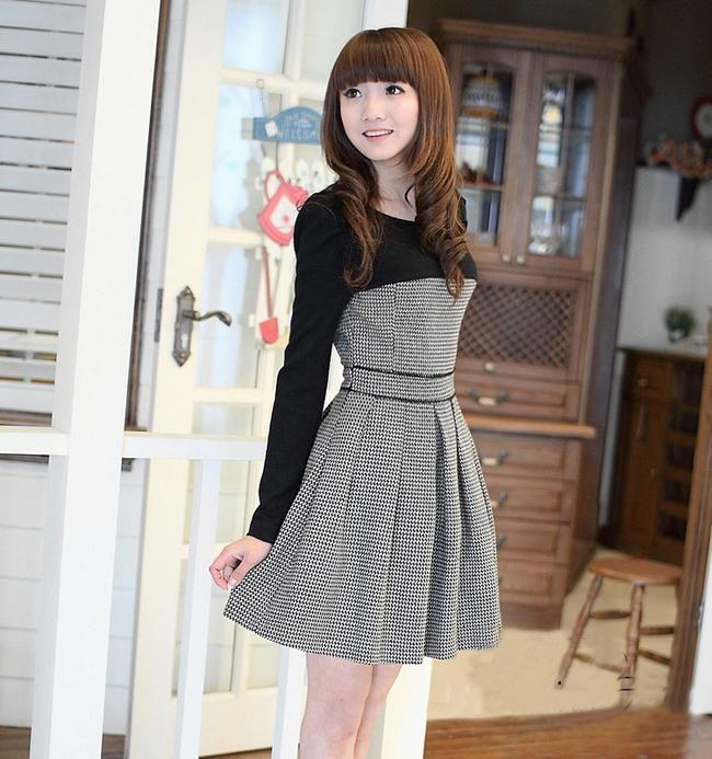 sexy Grey korean dress : Cute Cheap Clothing | Buy Clothes Online ...