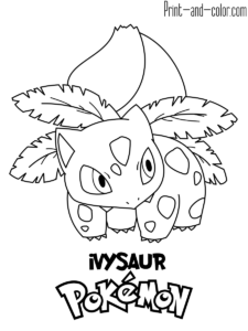 Pokemon Coloring Pages Print And Color Com Pokemon Coloring Pages Pikachu Coloring Page Coloring Books