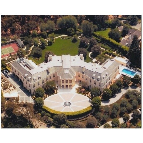 Luxury Homes In Los Angeles: The Biggest Mansions Ever Liked On Polyvore