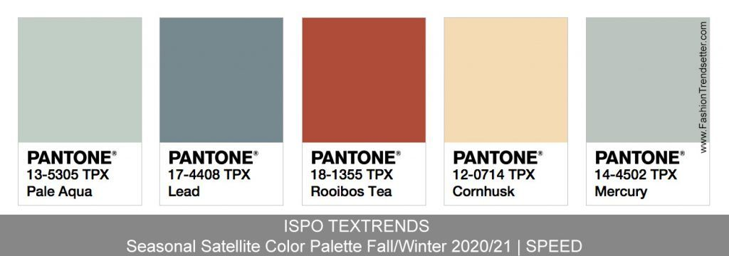 Color Trends 2020.Ispo Textrends Color Trends Fall Winter 2020 21 Color