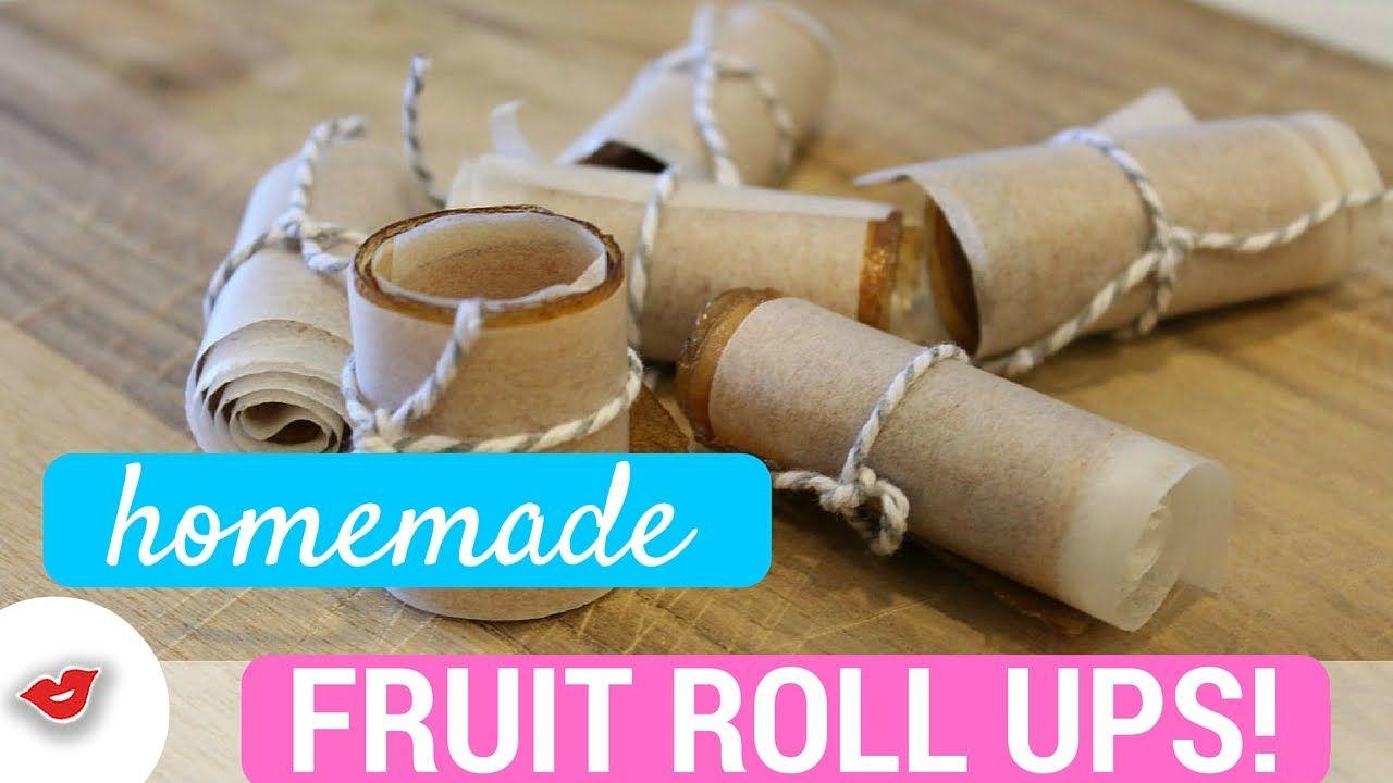DIY Homemade Fruit Roll Ups! | Stephanie from Millennial Moms