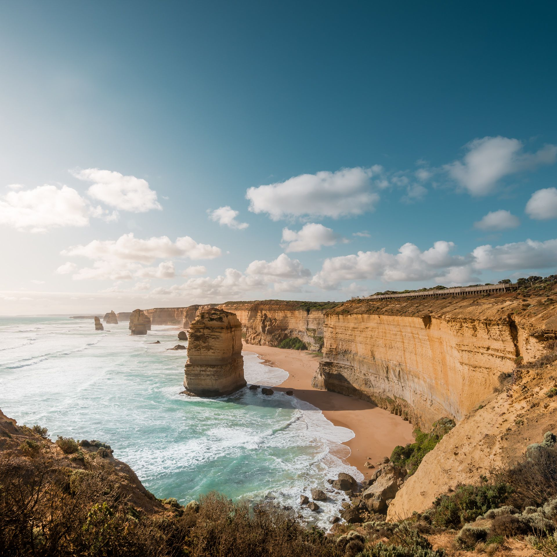 The Twelve Apostles, Victoria, Australia [1920×1920