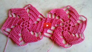 Videolu Motif Yapımı Detaylı Anlatım #crochettunicpattern