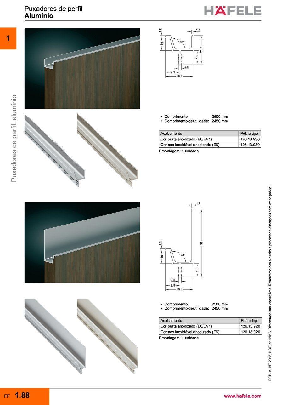 Aluminio Hafele Puxadores Kitchen Furniture Design Cabinetry Design Aluminum Extrusion Design