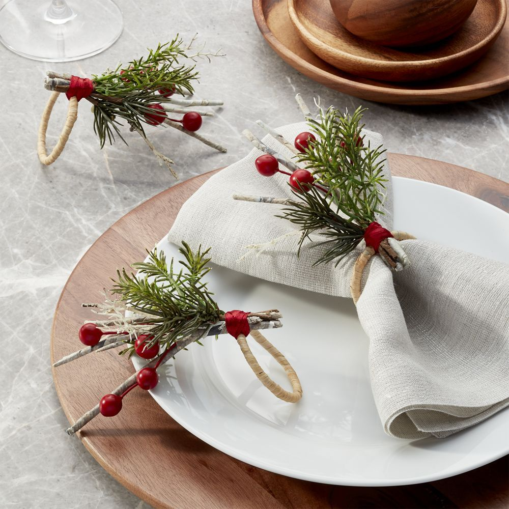 Paper Twig Napkin Ring | Products | Pinterest | Christmas