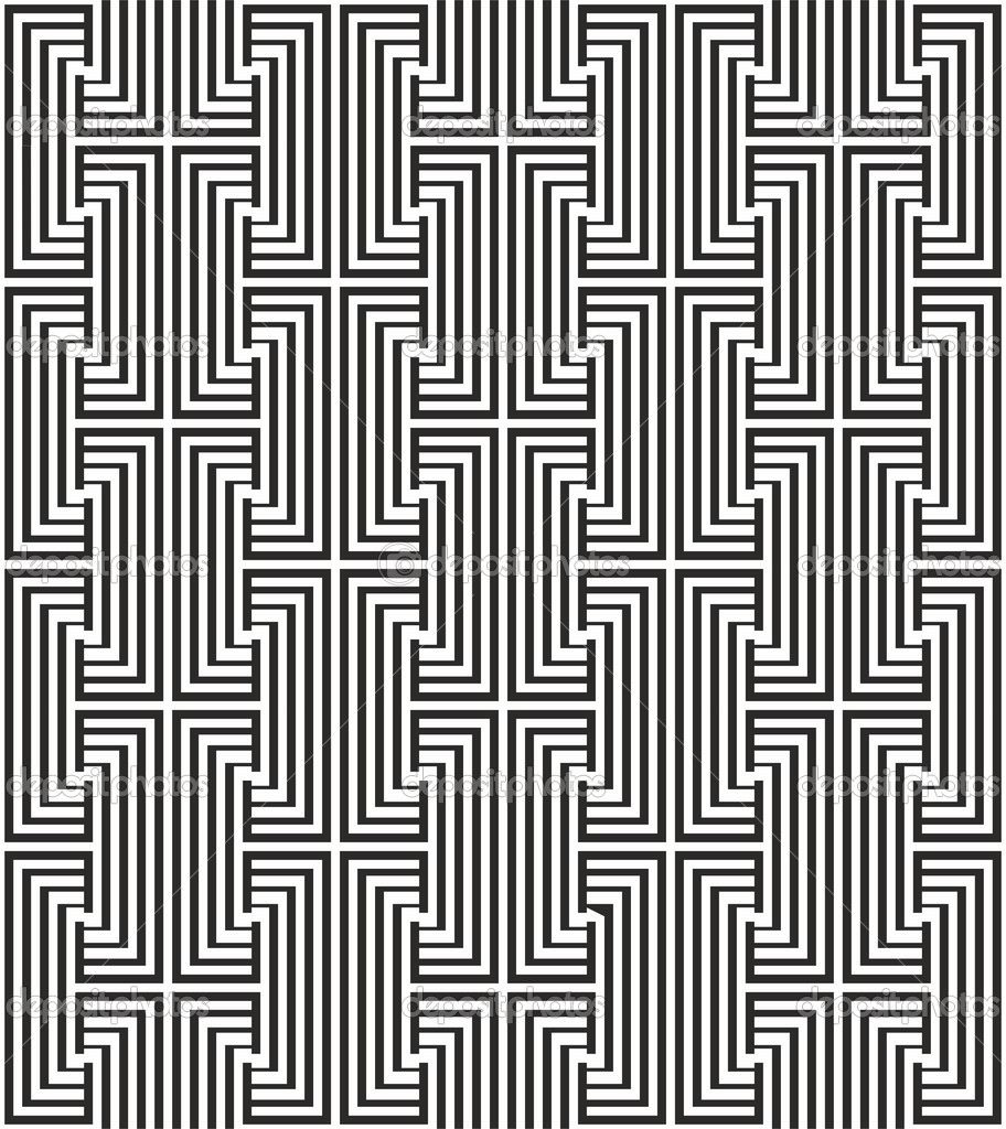 Zigzag Pattern With Black And White Line 912 1024 Zig Zag Pattern