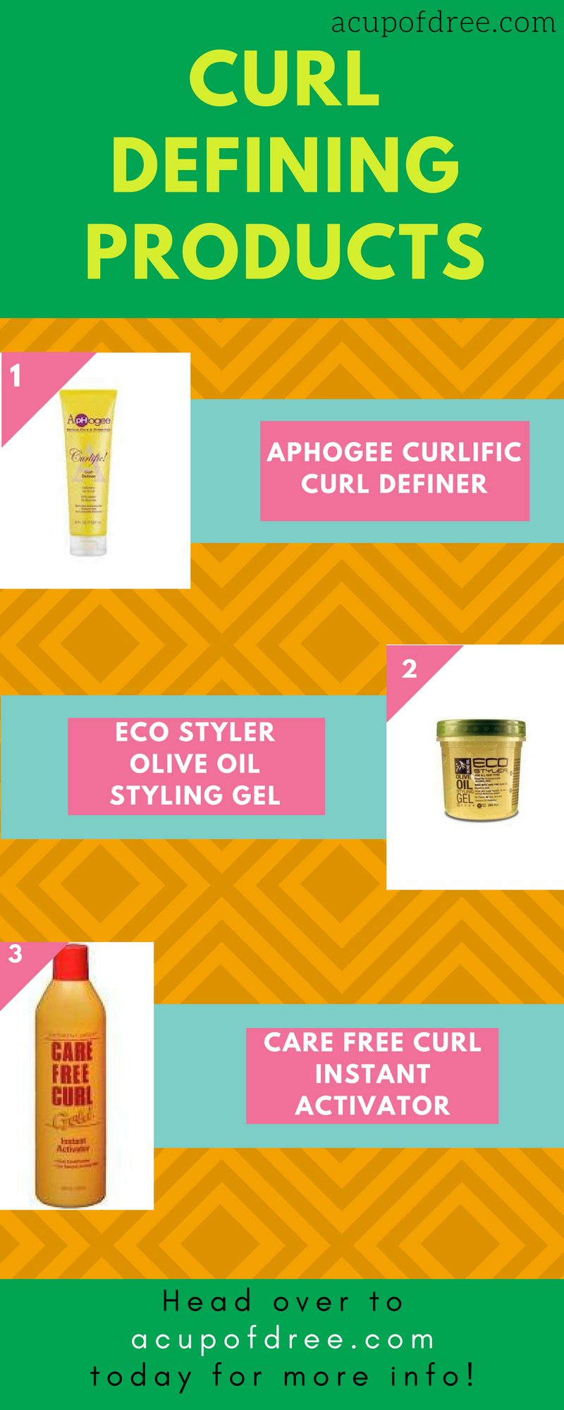 Make those curls pop by applying these 3 products.   #hair #naturalhair #naturalbeauty #curlyhair #curls #curldefiner #product