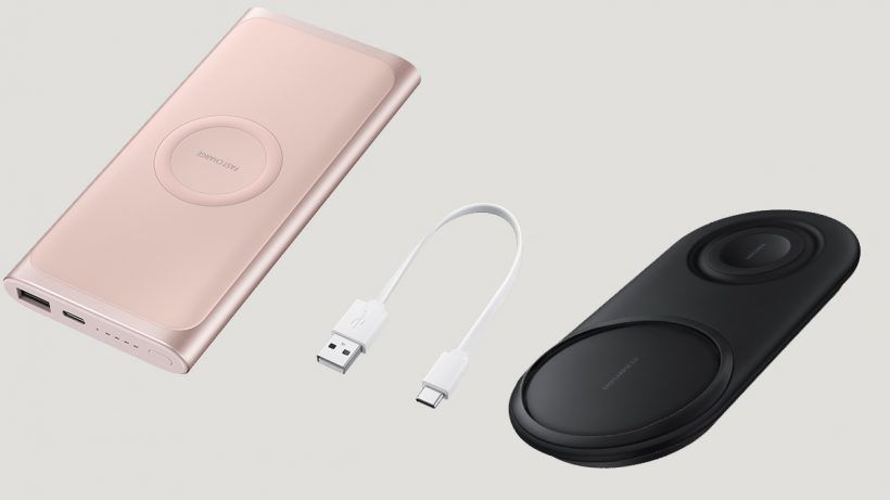 Samsung Introduces Wireless Accessories Wireless Power Bank And Charger Duo Pad Wireless Accessories Samsung Accessories Powerbank